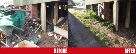 Junk Removal Services Before And After