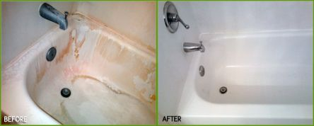Sink Cleaning Before And After