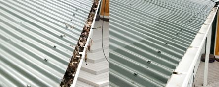 Roof Drain Cleaning
